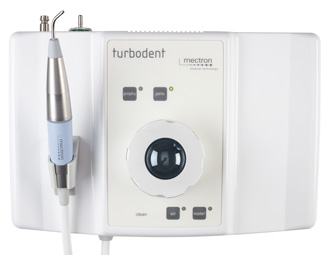 mectron airpolishing device turbodent - top view