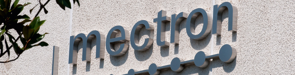 mectron building - detail company logo