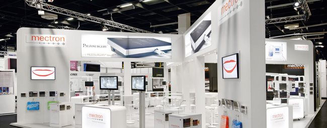 mectron booth at IDS 2011
