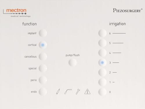 tastiera touch PIEZOSURGERY® white